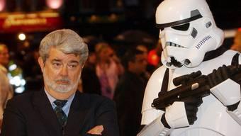 Eine der Verschwörungstheorien: Alma soll mit George Lucas zusammen an den «Star Wars»-Filmen mitgeschrieben haben.