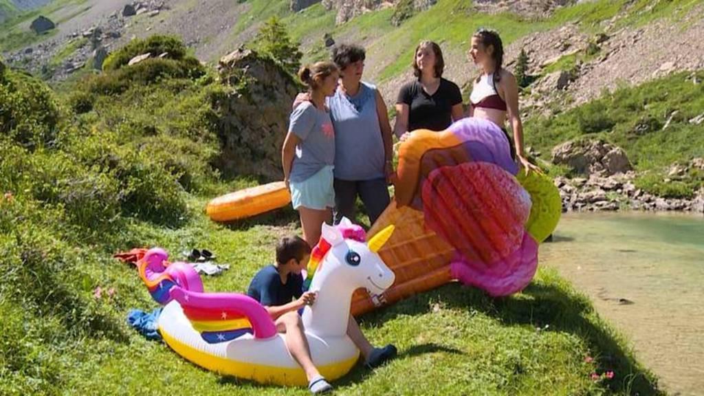 Zrugg uf d'Alp: Mit der Familie auf der Alp