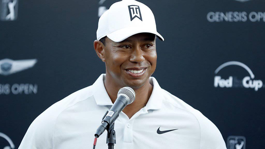 Tiger Woods hat schon wieder viel vor.