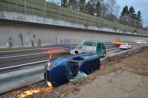 Unfall in Aesch
