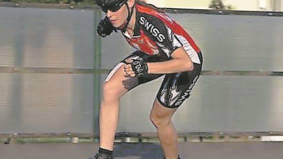Rina von Burg in der Trainingswoche in Ungarn vor der EM.