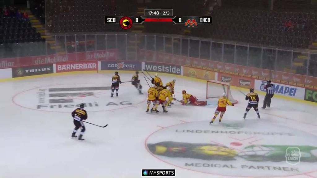 Bern gewinnt gegen Biel mit 6:0