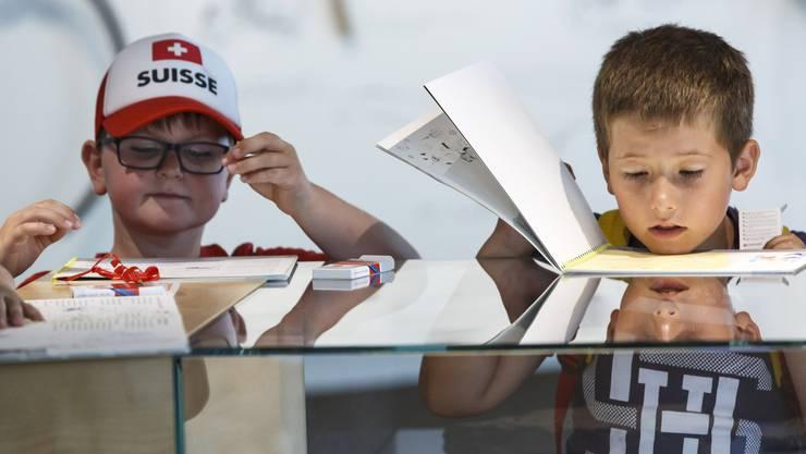 Ferienpass 2018: Im Naturmuseum beschäftigen sich die Kinder mit längst vergangenen Zeiten, dem Jurameer und Versteinerungen