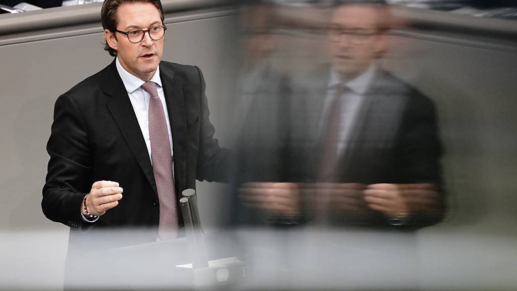 Maut-Affäre in Deutschland: Stürzt der Verkehrsminister?