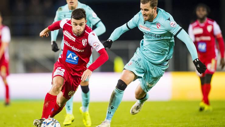Manchmal top, manchmal flop: Der FC Sion und Bastian Toma (links).
