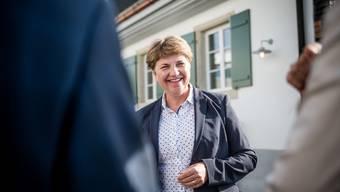 Bundesrätin Viola Amherd auf dem Weissenstein.