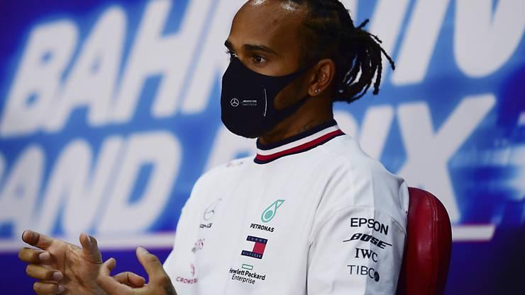 Weltmeister Lewis Hamilton war auch beim Auftakt in Bahrain der Schnellste