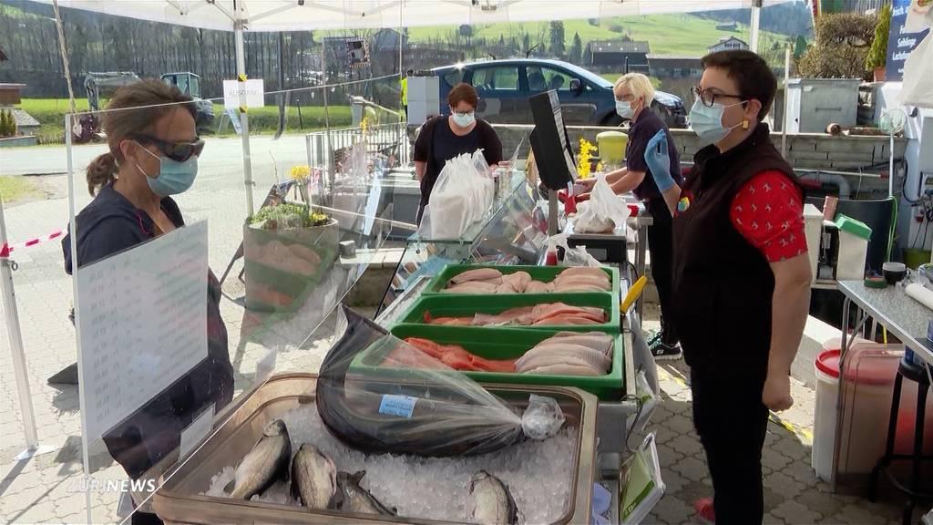 Coronabedingt mehr Direktverkauf für Fischzüchter diesen Karfreitag