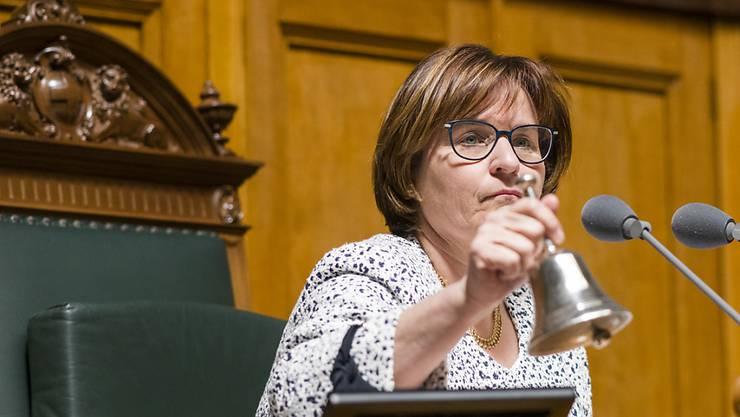 Für die Tessiner Sozialdemokraten soll im Oktober endlich die Stunde für einen Sitz im Ständerat schlagen. Schaffen soll diesen historischen Schritt die amtierende Nationalratspräsidentin Marina Carobbio. (Archivbild)