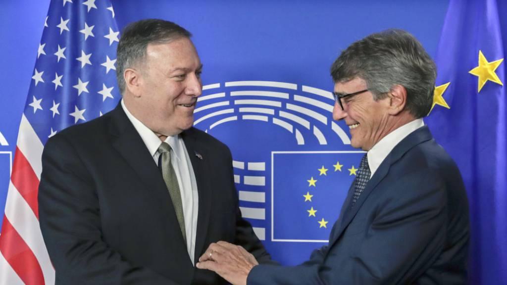 Pompeo will Neustart der transatlantischen Beziehungen