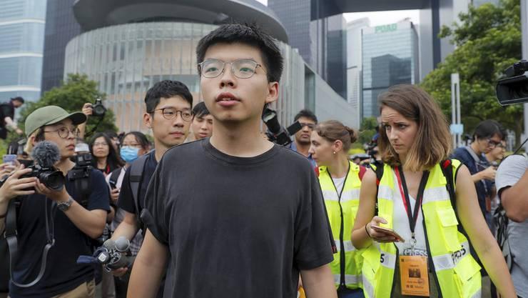 Der 23-jährige Joshua Wong: Für China ein rotes Tuch, doch der Aktivist lässt sich nicht mundtot machen.