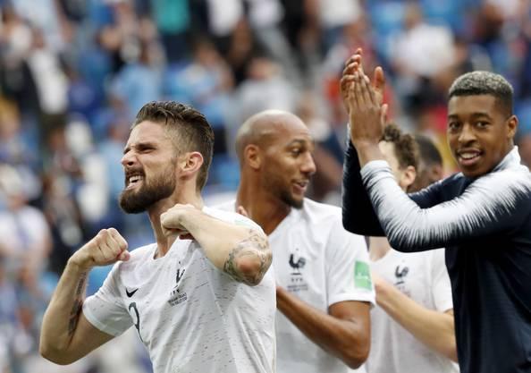 Die Franzosen hingegen erreichen den sechsten Halbfinal der Geschichte.