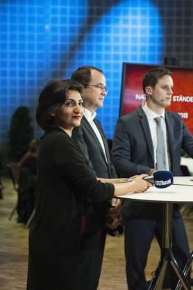 Die überraschende Gewinnerin und der traurige Verlierer: Sibel Arslan (GB) und Daniel Stolz (FDP)