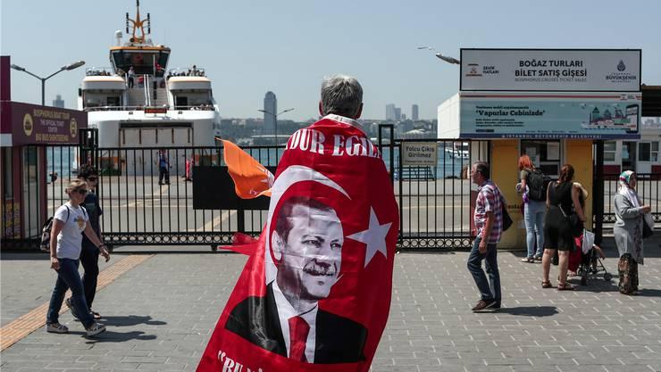 Wahlkampf in Istanbul: Bei der Abstimmung am Sonntag geht es um nicht weniger als das «System Erdogan».. Key