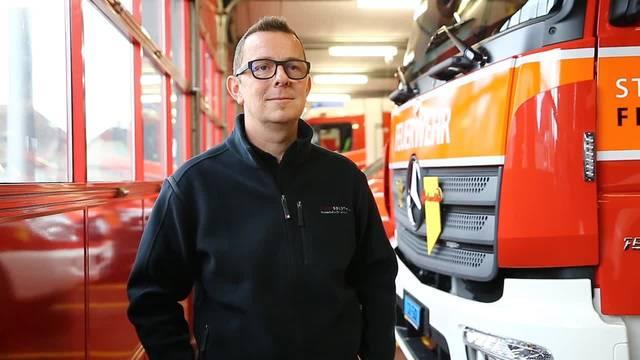 Interview mit Feuerwehrkommandant Boris Anderegg