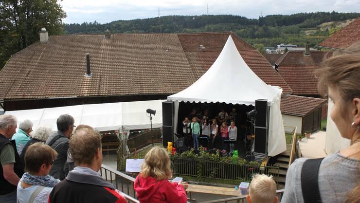 Vortrag am Dorffest Pieterlen