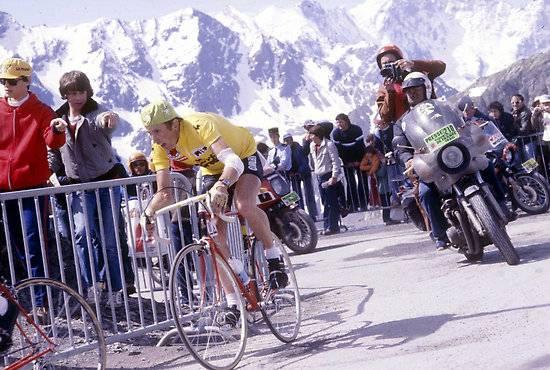 Ein Tour-Sieg und sechs zweite Plätze: Joop Zoetemelk hatte das Problem in der selben Zeit zu fahren wie Eddy Merckx und Bernard Hinault.