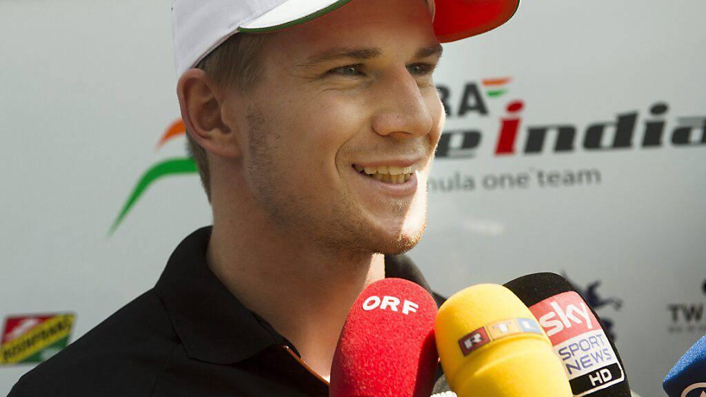 Nico Hülkenberg ist nun in offizieller Mission zurück im Team Aston Martin