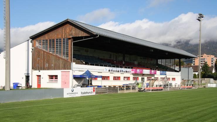 Das Stadiongebäude soll für 2,8 Mio. Franken saniert und umstrukturiert werden.