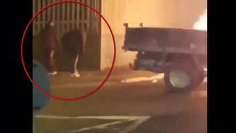 Die Verdächtigen wurden gefilmt.