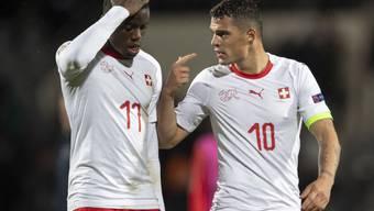 Granit Xhaka (10) freut sich auf das abschliessende Spiel gegen Belgien