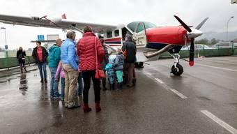 Ein Flugzeug, das gutes tut