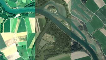 So veränderte sich der Flachsee in den Jahren 1998 bis 2015.