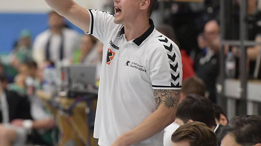 Den Weg zum Titel vorgezeichnet: Kadetten-Coach Peter Kukucka