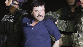 """Drogenboss Joaquín """"El Chapo"""" Guzmán. (Archivbild)"""