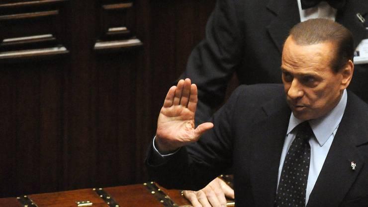 «Ciao Italia!» Silvio Berlusconi tritt zurück