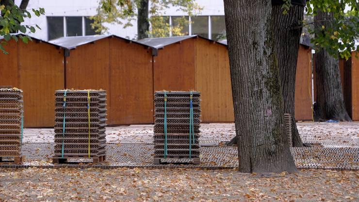 Ultimatives Indiz für den Herbst: die Messehüsli.