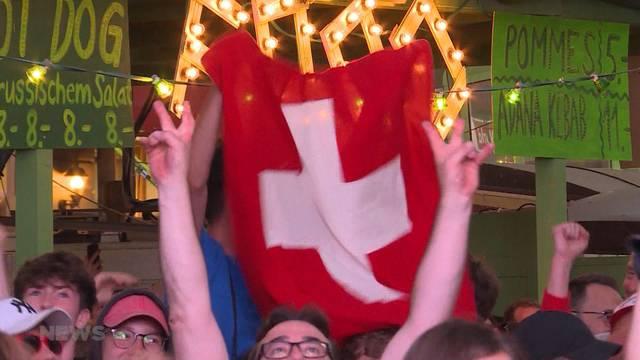 """Schweiz im WM-Achtelfinal: """"Wir sind stolz!"""""""