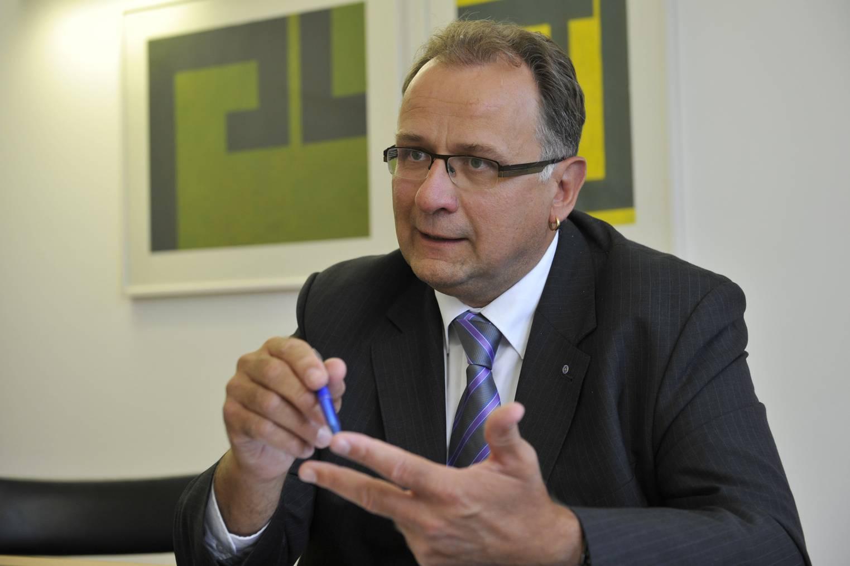 Ueli Strauss ist der Leiter des Amt für Raumentwicklung und Geoinformation des Kanton St.Gallen. (Bild: Tagblatt/Ralph Ribi)