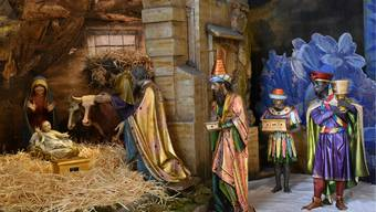 Ankunft der drei Könige: In der St.-Martinskirche in Olten steht eine monumentale Nazarener-Weihnachtskrippe.