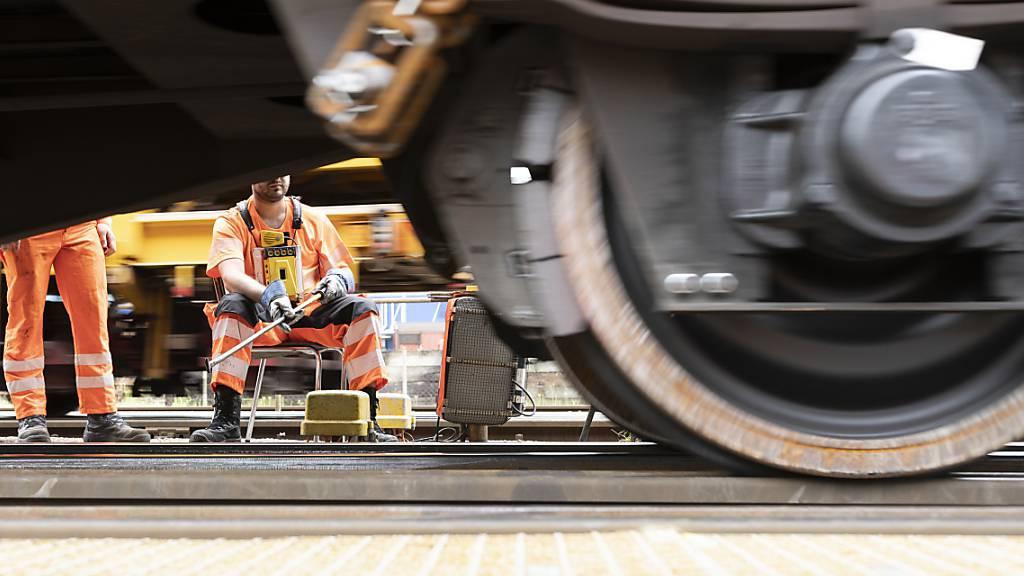 Bremse an einem Güterwagen im Rangierbahnhof Limmattal in Dietikon ZH. (Archivbild)
