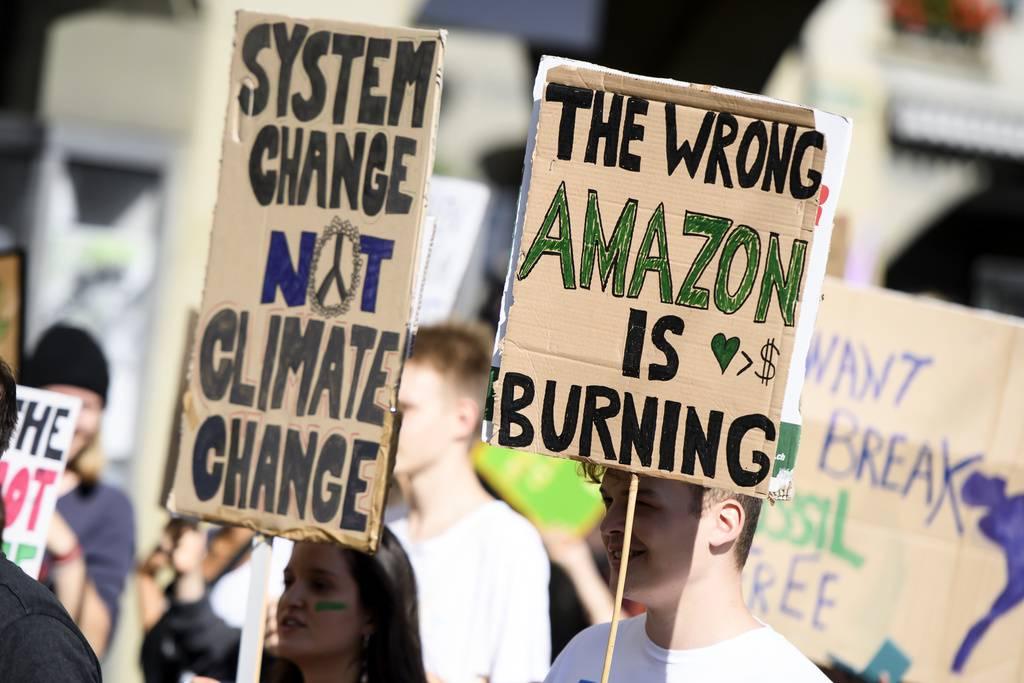 Nationale Klimademonstration in Bern (© FM1Today)