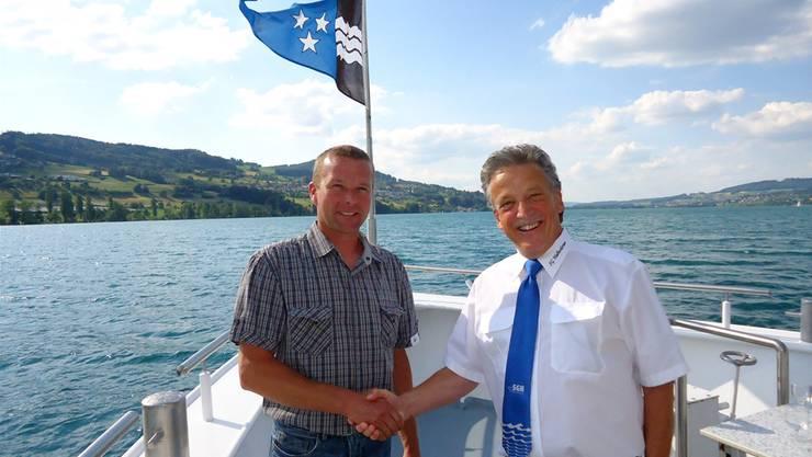 Thomas Lindenmann löst Jörg Schatzmann als Verwaltungsrat der Schifffahrtsgesellschaft Hallwilersee ab.