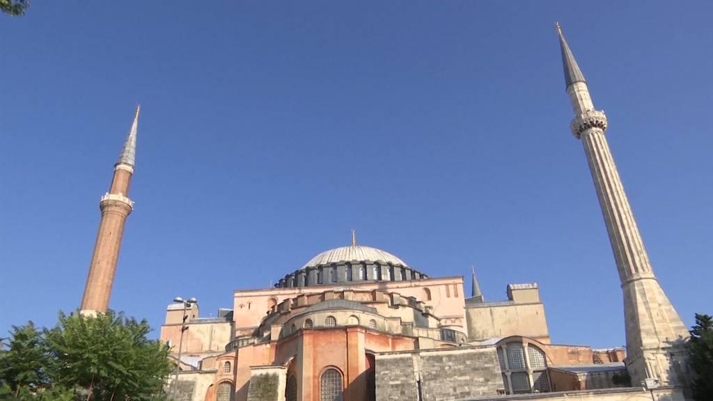 Eröffnung der Hagia Sophia als Moschee in zwei Wochen