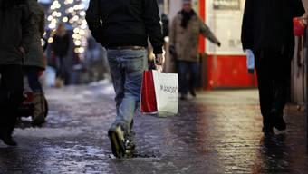 Der zweite Sonntagsverkauf im Dezember war weniger stark frequentiert. (Archiv)
