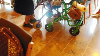 Unsicher: Mindestens noch zwei Alters- und Pflegeheime im Kanton könnten aus finanziellen Gründen straucheln. Urs Lindt