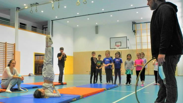 Diese Woche war der Circus Balloni in Geroldswil zu Gast...
