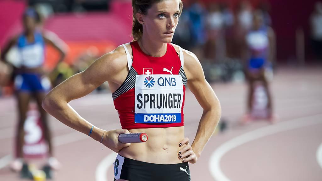 Lea Sprunger startet am 11. Juni in Oslo in die Saison