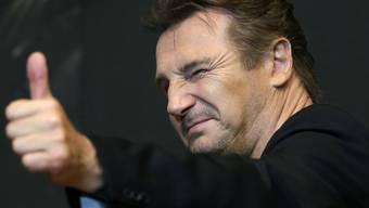 Daumen hoch fürs Fliegenfischen: Liam Neeson (Archiv)