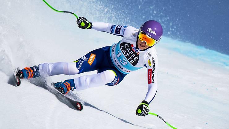 Endlich wieder auf den Ski: die zweifache Abfahrts-Weltmeisterin Ilka Stuhec