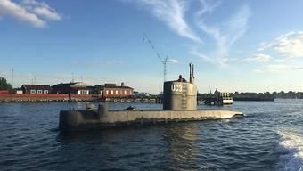 """An Bord des privaten U-Boots """"Nautilus"""" war die schwedische Journalistin zuletzt lebend gesehen worden (Archiv)"""