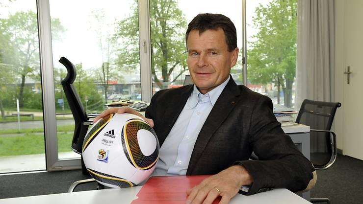 Franz Julen wechselt bald das Spielfeld: Er verlässt Intersport und wird Präsident von Valora. (Archiv).