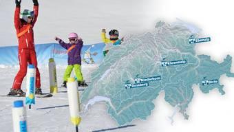 Skigebiete für die Familie.