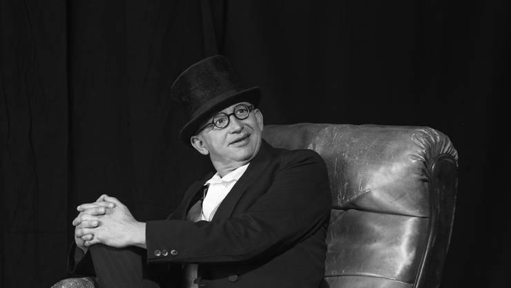Auch Philipp Galizias neues Kabarettsolo 'Kater' hat im ThiK Premiere  (Foto Oliver Lang)