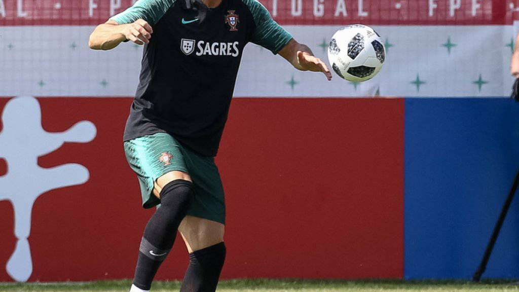 Will auch gegen den Iran den Unterschied ausmachen: Portugals Superstar Cristiano Ronaldo