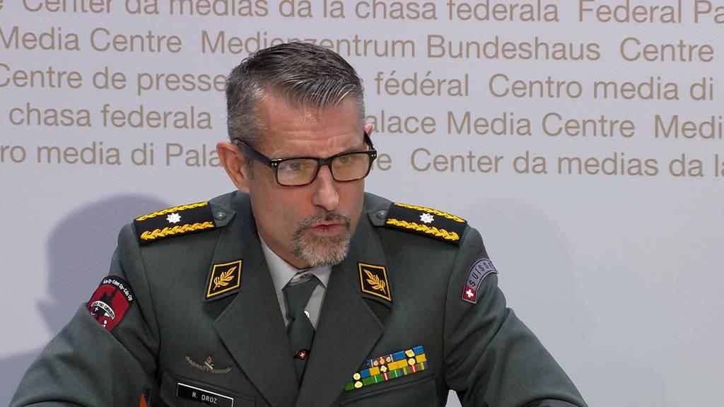 128 Armeeangehörige mit Coronavirus infiziert: 93 an zwei Standorten